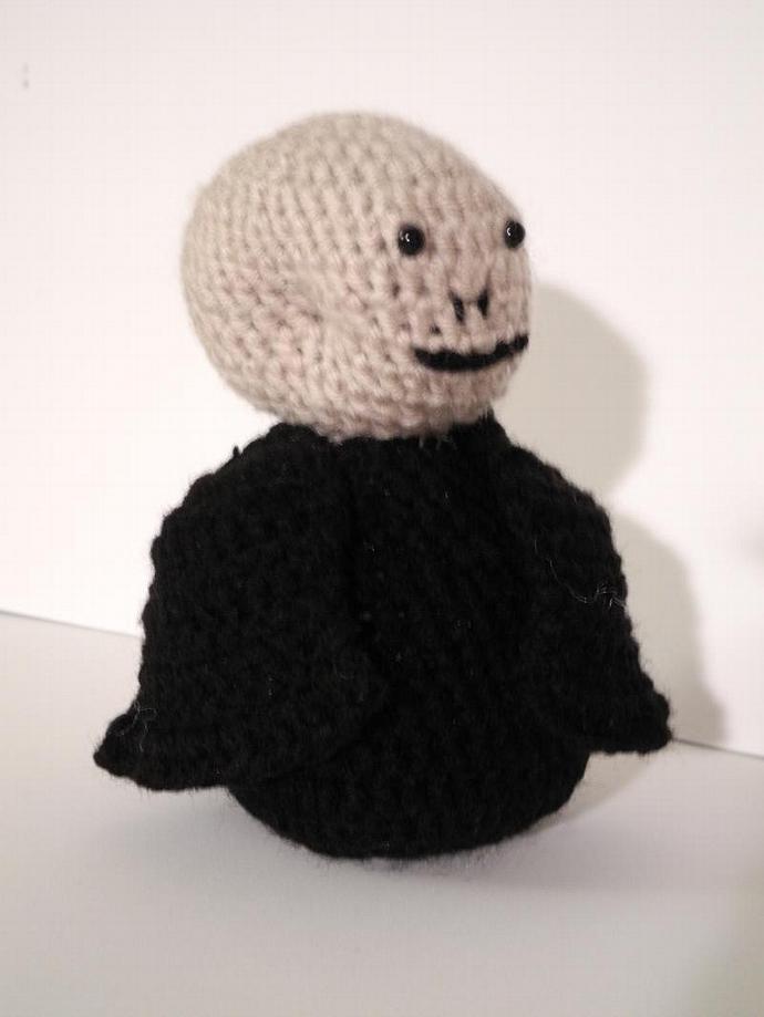 Amigurumi Lord Voldemort