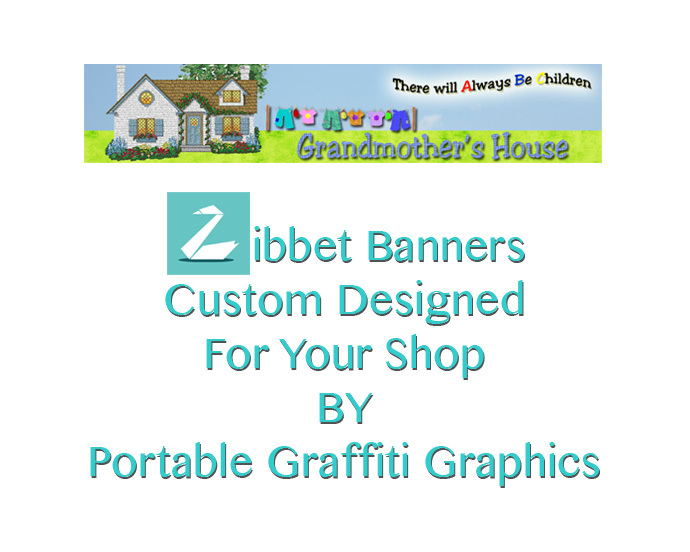 Zibbet Banners For The New Zibbet