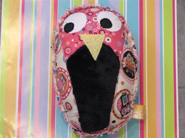 Plush Owl- Annabell