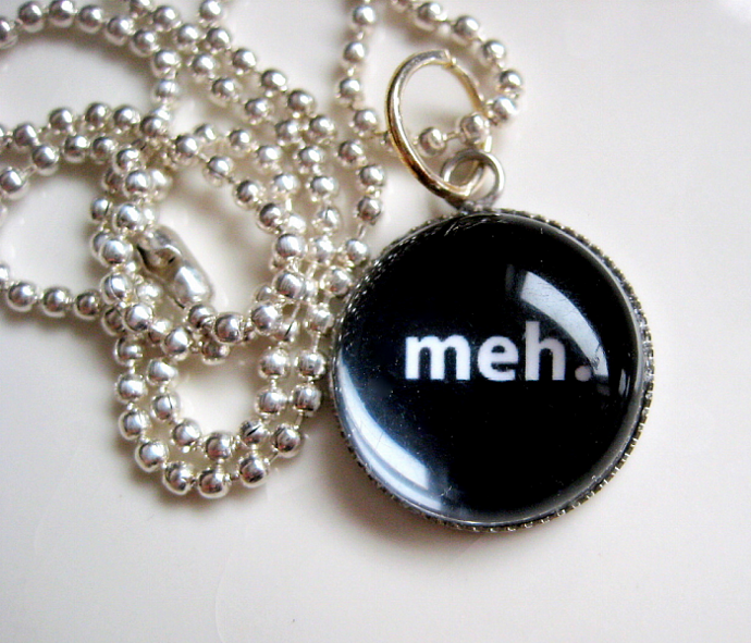 Meh - A Little Bubble Pendant