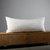 White lumbar pillow cover - pillows case - lumbar pillows -14x36 inch size with