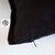 Black linen pillow cover - classic style decorative pillows case -  linen  throw