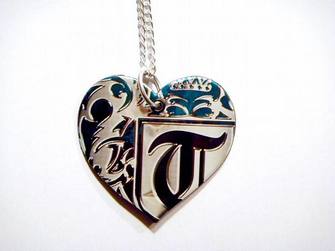 Tilt Soda Can Heart Necklace
