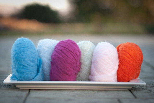 Diamond Fibers Cashmere Cloud Yarn - Robin's Egg