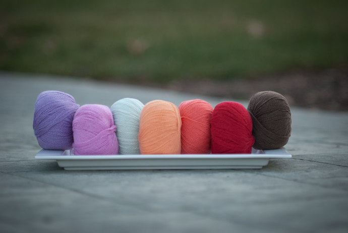 Diamond Fibers Cashmere Lace Yarn - Violet