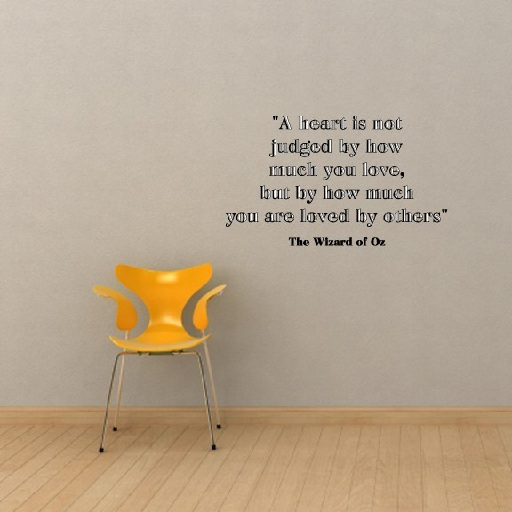 Captivating Wizard Of Oz Quote Wall Decal ...