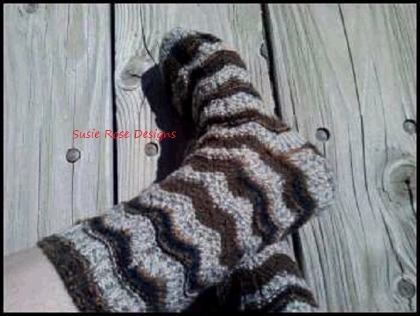 3 Peat Knitted Sock Pattern - PDF - Experienced Beginner