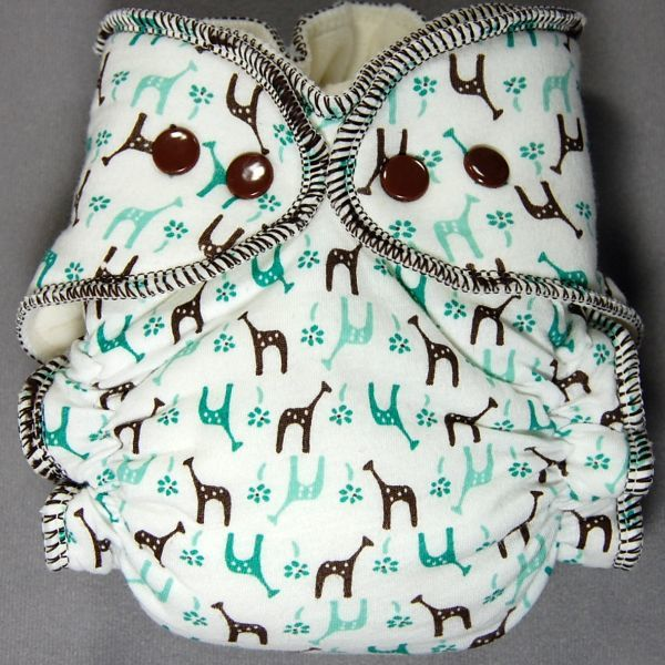 SALE! 30% off<br>Small (Big Nb) Little Boppers� Wind Pro All-in-2 <br>~Teal Giraffes ~