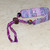 Loom Woven Shades of Lilac Friendship Bracelet