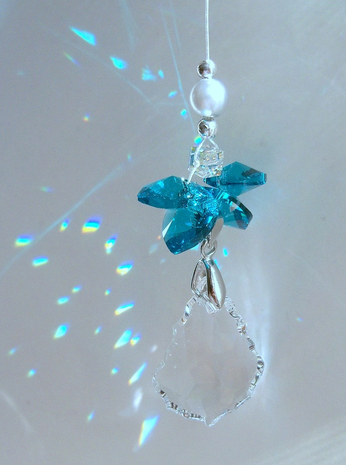 Sun Catcher - December Birthstone Angel
