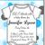 Onesie Polka Dot Baby Shower Invitations (Download JPG Immediately)