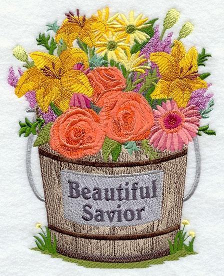 Embroidery Quilt block,Beautiful savior,quilting block
