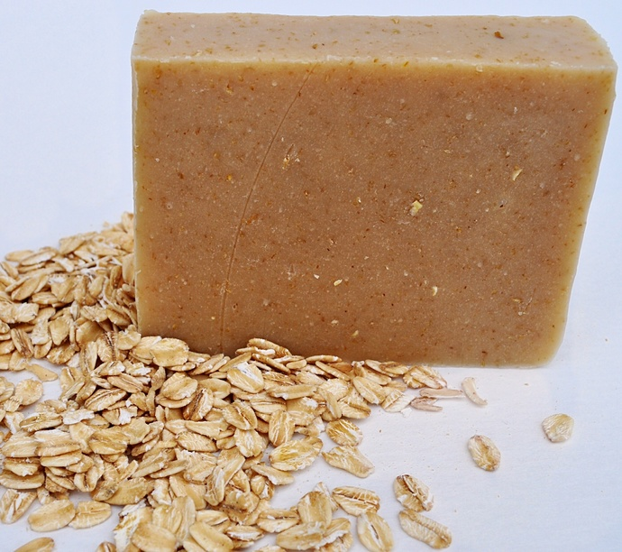 Oatmeal Goat milk soap,Unscented,Cold Process, all natural,handmade,homemade