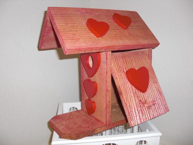 Birdhouse - Valentine by ABCbirdhouses