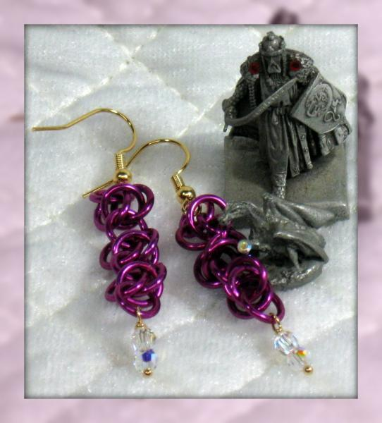 Frillz Chainmaille Earrings