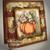 An Autumn Nap Fantasy Fall Handmade OOAK Art Greeting Card