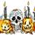 Halloween Cheer digital stamp