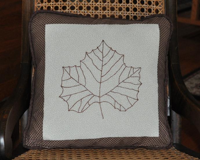 Maple Leaf Pillow