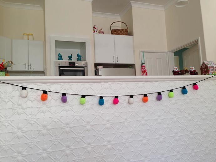 Chrochmas Lights - Christmas crochet