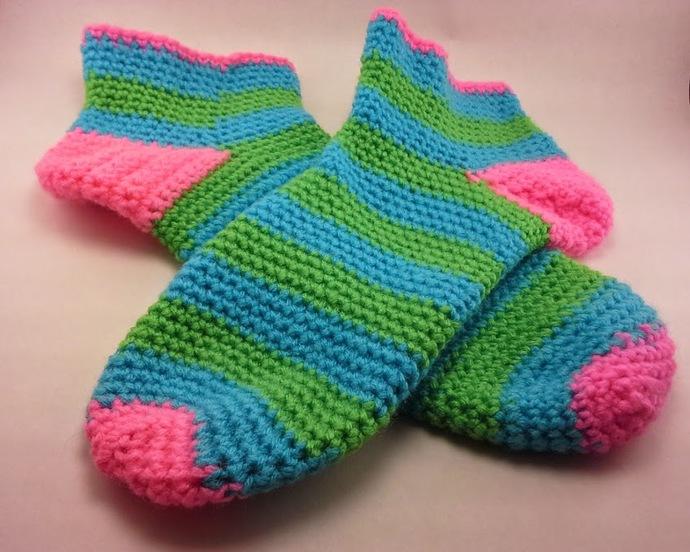 Not So Basic Slipper Socks - Customize them!