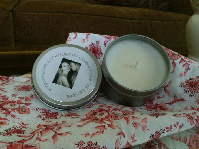 Massage Oil-Soy Candle-Pure Seduction
