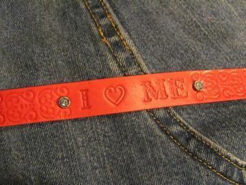 I love me bracelet