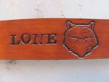 The Lone Wolf  Bracelet