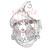 Endora Hat lady witch digital stamp