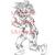 Zombie Boy digital stamp