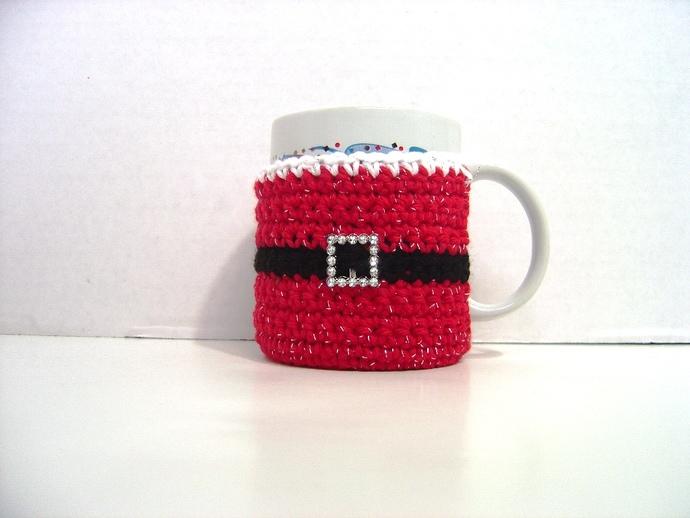 Santa Mug Cozy, Mug Hug