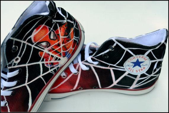 spiderman converse