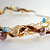 The Beach Wire and Ribbon Necklace