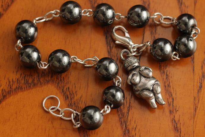Hematite Goddess bracelet mother