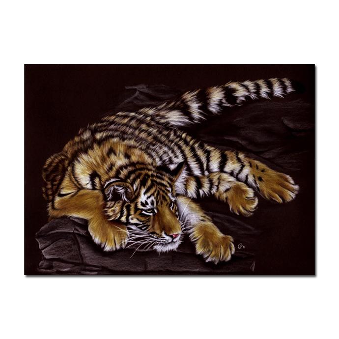 "9x12"" COMMISSION PET Custom PORTRAIT Sandrine Curtiss Original Art animal"