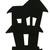 2pcs Foam Haunted House