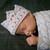White Baby Custom Crochet Crown, Tiara for Photo Prop