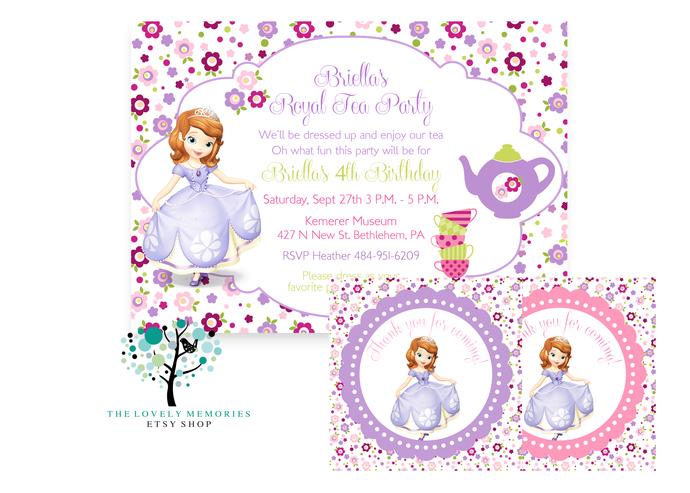 Sofia the first - Princess Birthday tea by ...