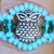 Owl Ring Turquoise & Ring Size 10