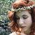 Bridal flower crown Ivory flower crown Rustic bridal tiara boho wreath Woodland