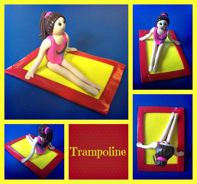 Amazon Trampoline Cake Topper