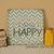 8x8 Fun Size! Choose Happy, 8x8 Chevron Sign, Fun Housewarming Gift, New Home,
