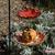 Hanging Bird Feeder / Autumn Leaves in the Pumpkin Patch / Fine Art / Glass Art