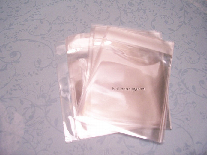 100 Pcs. 2 3/4 x 2 3/4 Mini Resealable Cello Bags