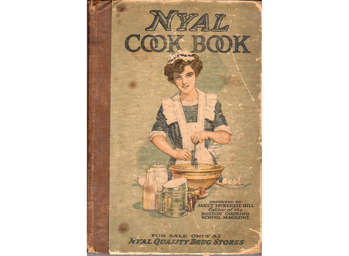 Vintage Nyal Cook Book 1910s Drug Store Janet McKenzie Hill Practical Recipes