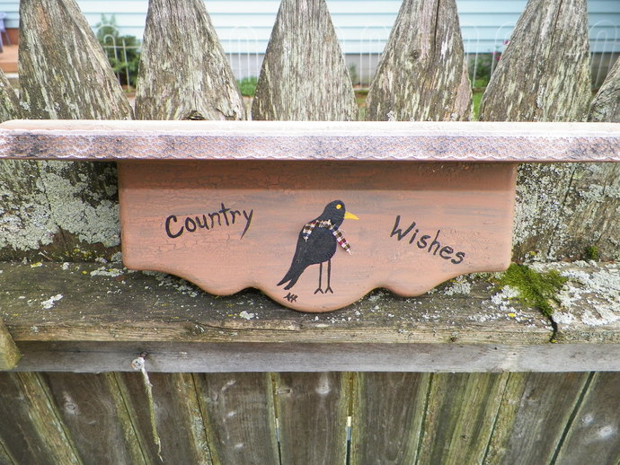 Country Wishes Shelf