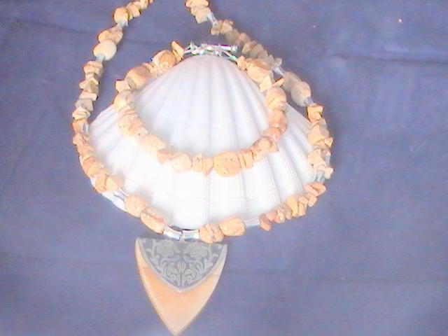 Picture Jasper Bracelet and Necklace