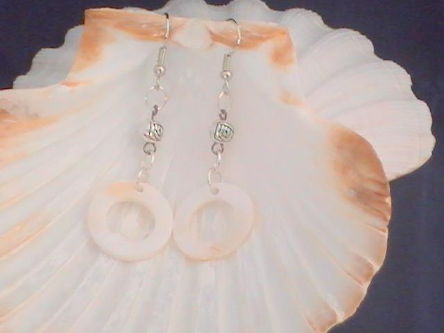 Circular Shell earrings