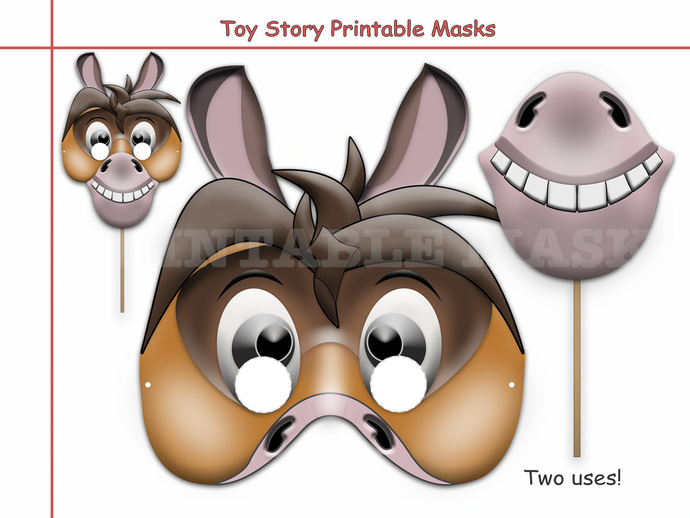 Unique Disney Toy Story Printable Masks | HolidayPartyStar