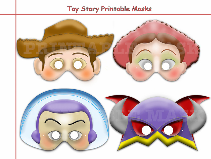 Unique Disney Toy Story Printable Masks by ...