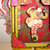 Vintage Circus Mixed Media Assemblage Sculpture/Shrine OOAK